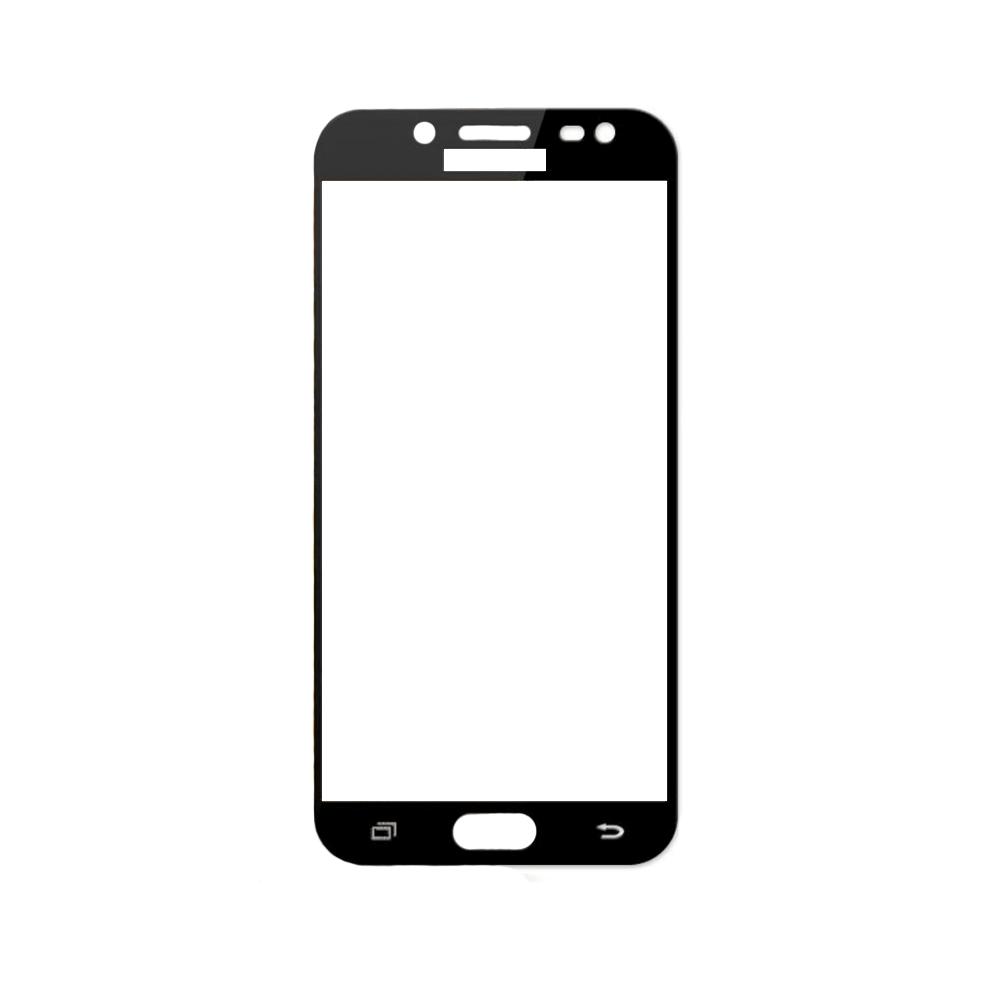 Защитное стекло Samsung J7 2017, Samsung J730 2017, Окантовка Black A-Case