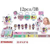 "Кукла LOL серия ""Happy"" в сумке с кодом 12 шт-упак (КК8806-6*)"