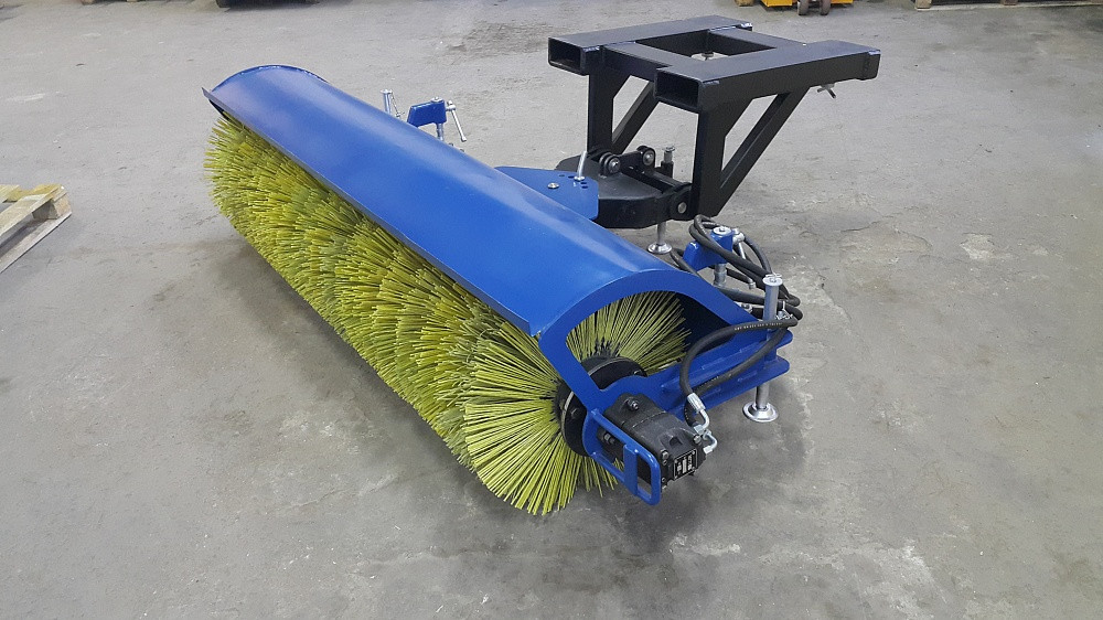 Щеточное оборудование с ручным поворотом щетки