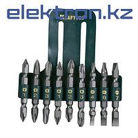 Набор бит двухсторонних 9 предметов (PH; PZ; SL) Kraftool 26060-H10