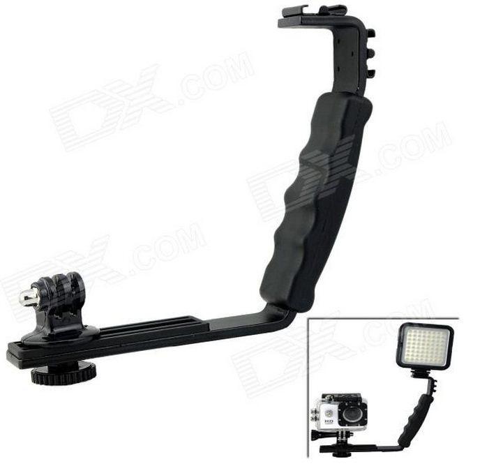 L-образная ручка для фотоаппаратов и мини-видеокамер