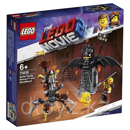 70836 LEGO Movie Боевой Бэтмен и Железная борода