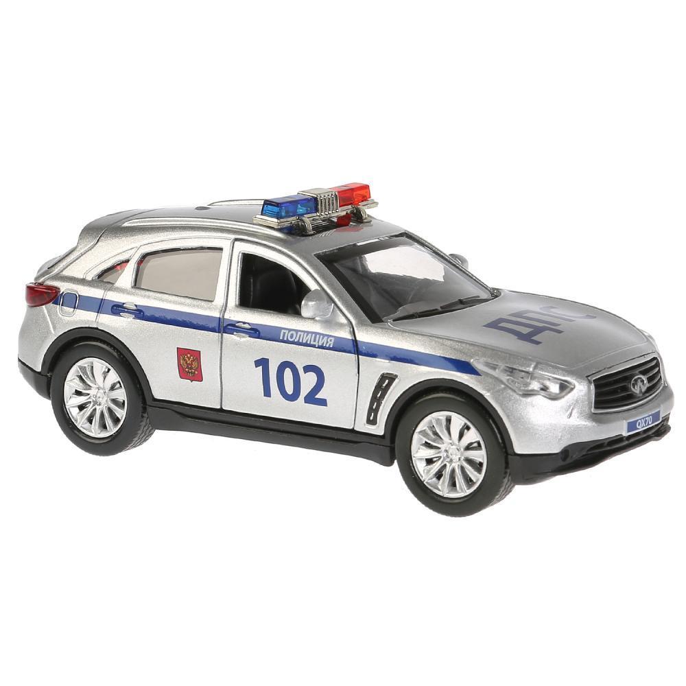 """Технопарк Инерционная машина """"NFINITI QX70"""" - Полиция (свет, звук)"""