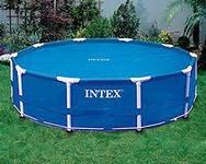 Обогревающее покрывало Intex Solar Pool Cover для бассейнов (488 см)