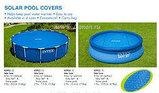 Обогревающее покрывало Intex Solar Pool Cover для бассейнов (488 см), фото 4