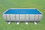 Обогревающее покрывало Intex Solar Pool Cover для бассейнов (732см x 366см) , фото 3