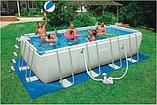 Обогревающее покрывало Intex Solar Pool Cover для бассейнов (732см x 366см) , фото 4