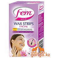 FEM Восковые полоски для лица для нормальной кожи c Календулой, 20 шт.