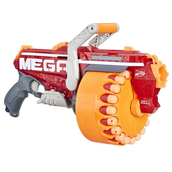 "Hasbro Nerf N-Strike Mega Бластер ""Мегалодон"" (Megalodon)"