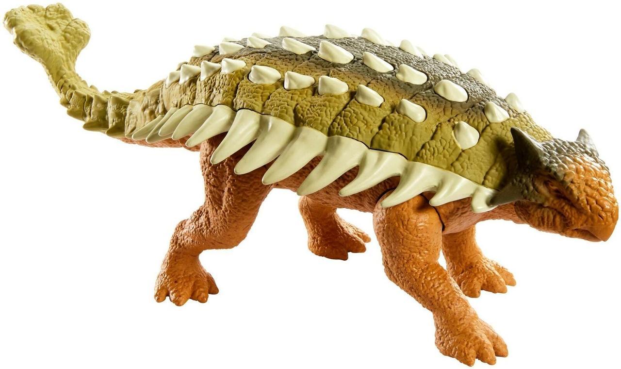 Мир Юрского Периода - Анкилозавр со звуковыми эффектами (звук, движение)