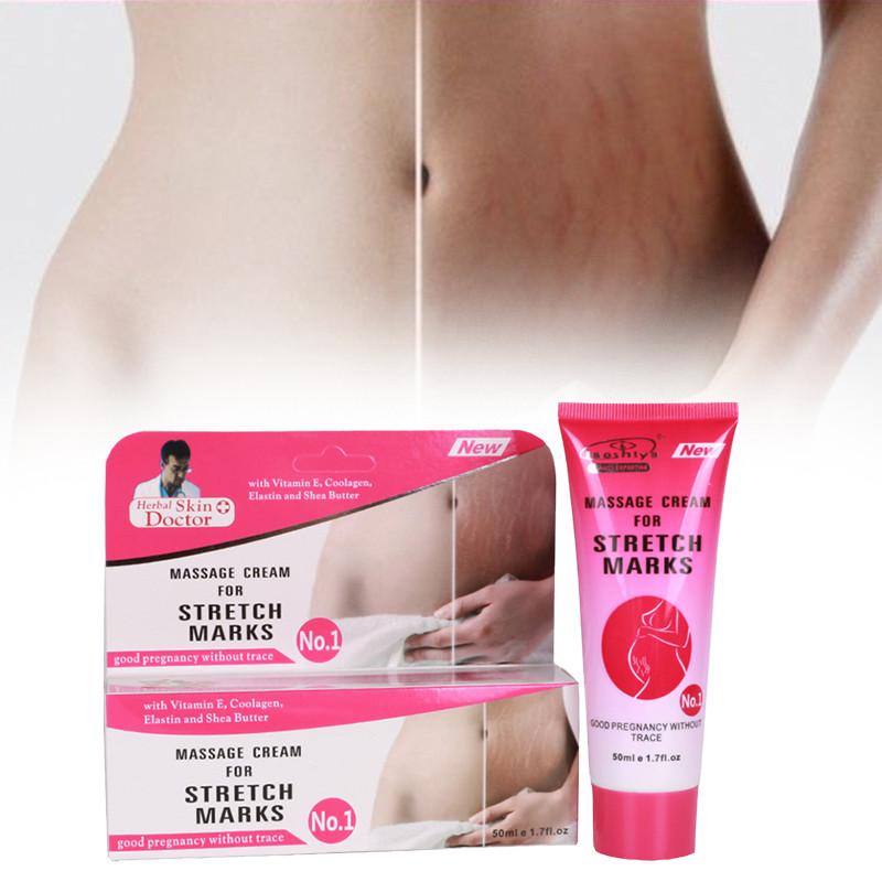 Массажный крем от растяжек Herbal Scin Doctor , Massage Cream for Stretch Marks 50 ml.