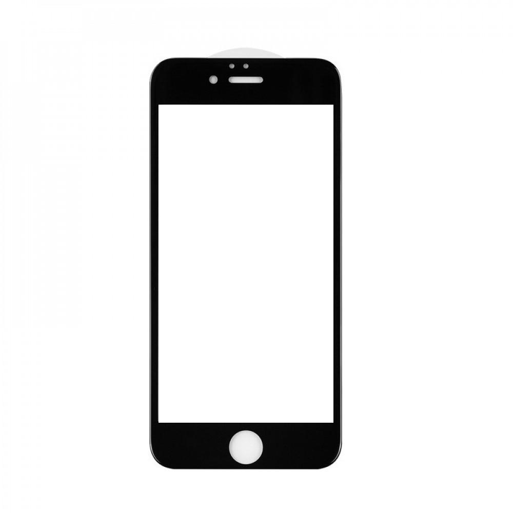 Защитное стекло 5D A-Case Apple iphone 6 Plus, 6S Plus, Окантовка Black