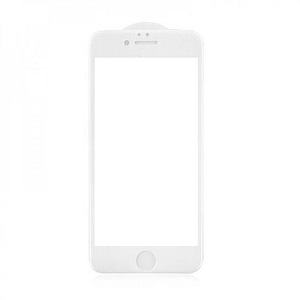 Защитное стекло 5D A-Case Apple iphone 6 Plus, 6S Plus, Окантовка White, фото 2