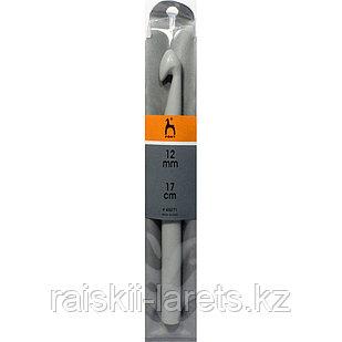 Крючок вязальный d-12.0мм, 15 см PONY 45271