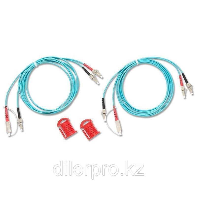Комплект Fluke Networks NFK2-DPLX-ST из двух дуплексных многомодовых эталонных кабелей 50 мкм с коннекторами
