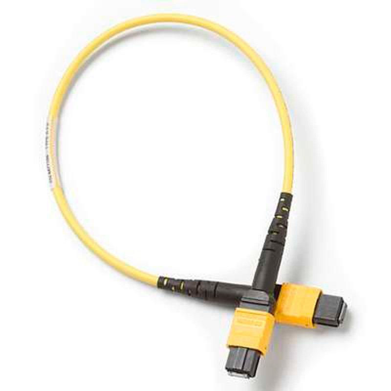 Одномодовый тестовый эталонный кабель Fluke Networks TRC-SM-MPOAPC-UU-A 03 м  с разъемом MPOAPC/MPOAPC без