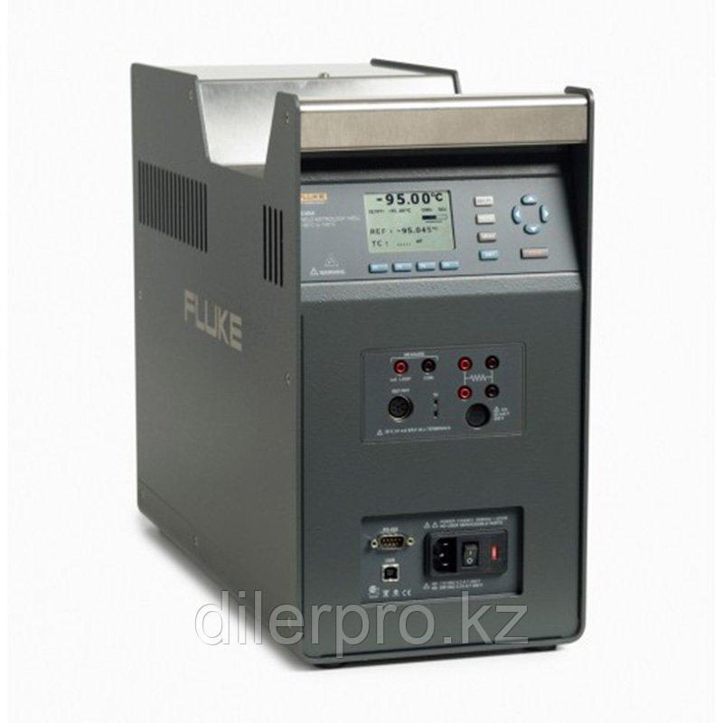 Полевой сухоблочный калибратор температуры Fluke 9190A-E-P-256