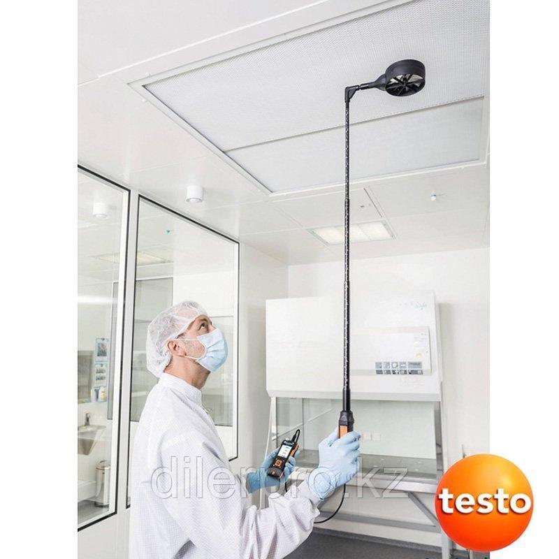 Зонд-крыльчатка (Ø 100 мм) с Bluetooth включая сенсор температуры Testo