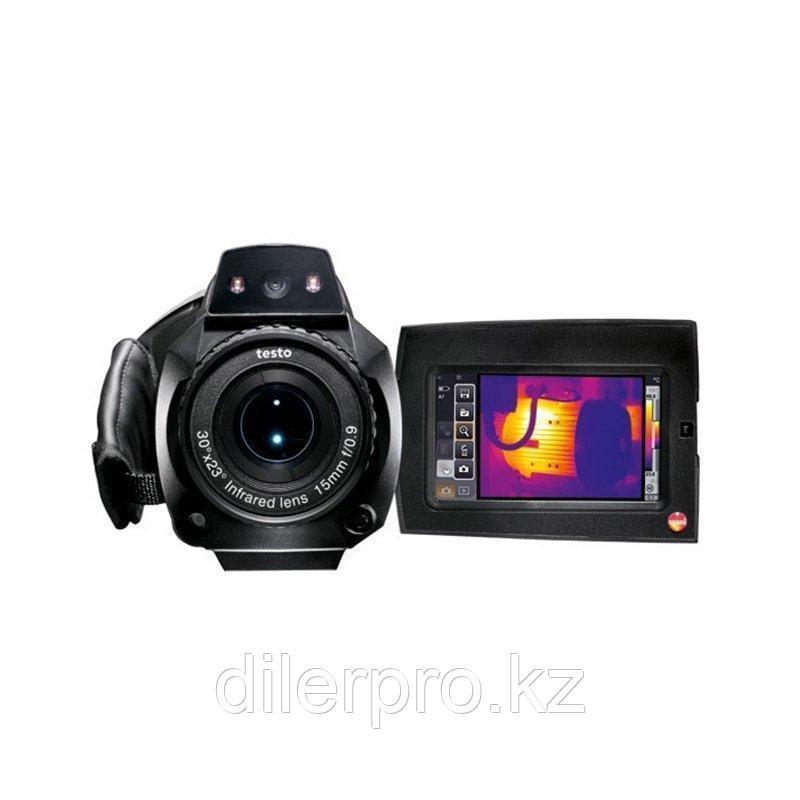 Комплект тепловизора Testo 890-2 c супер-телеобъективом C2 + C0 и опцией I1
