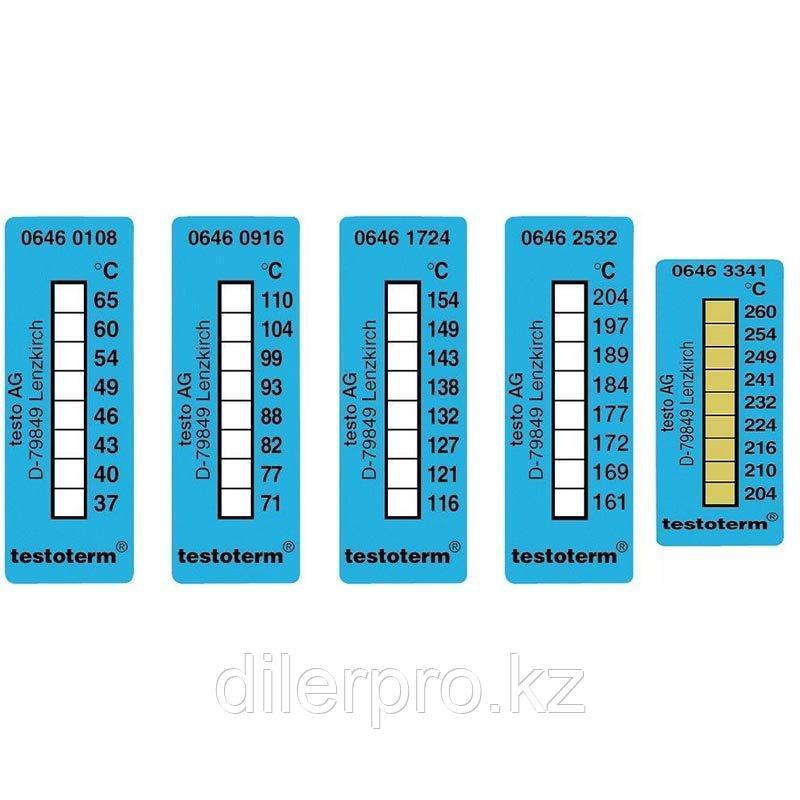 Самоклеющиеся термополоски Testo