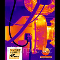 Опция Super Resolution для Testo 885