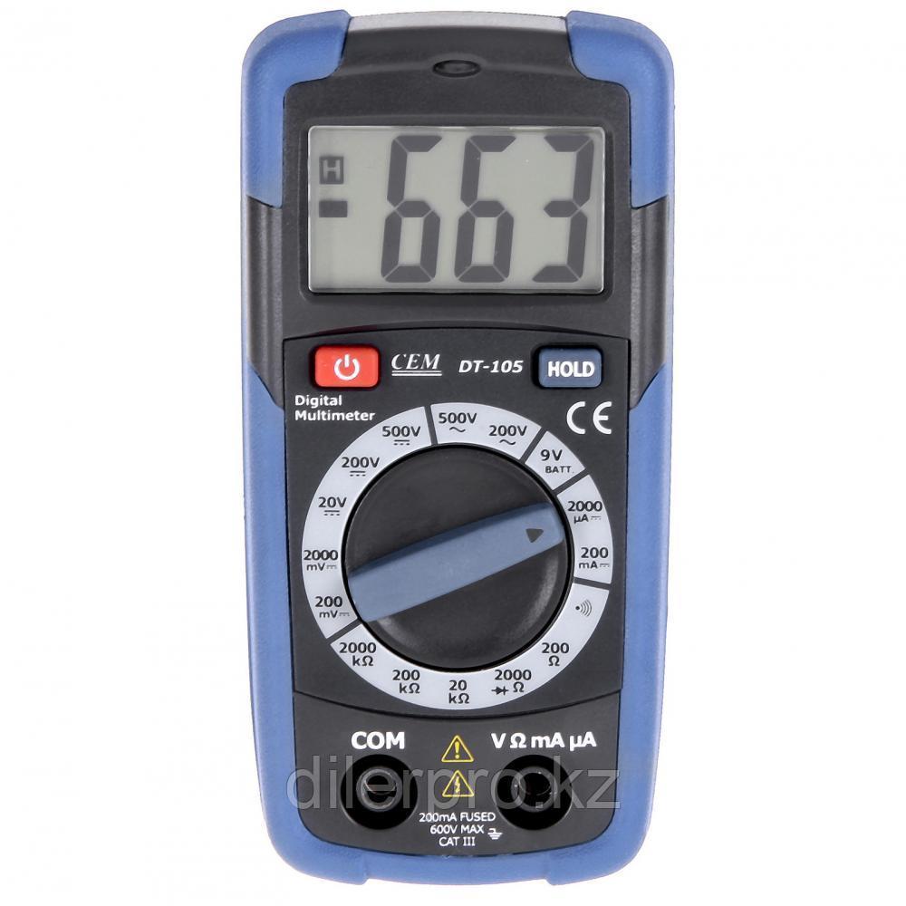Карманный мультиметр CEM DT-105