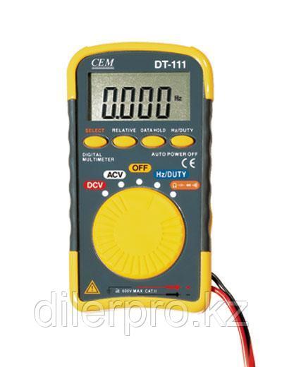 Карманный цифровой мультиметр CEM DT-111