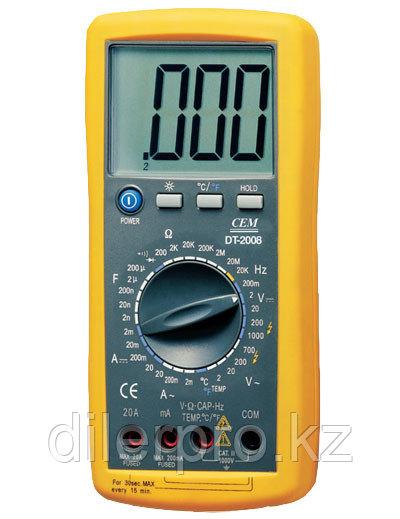 Профессиональный мультиметр CEM DT-2008