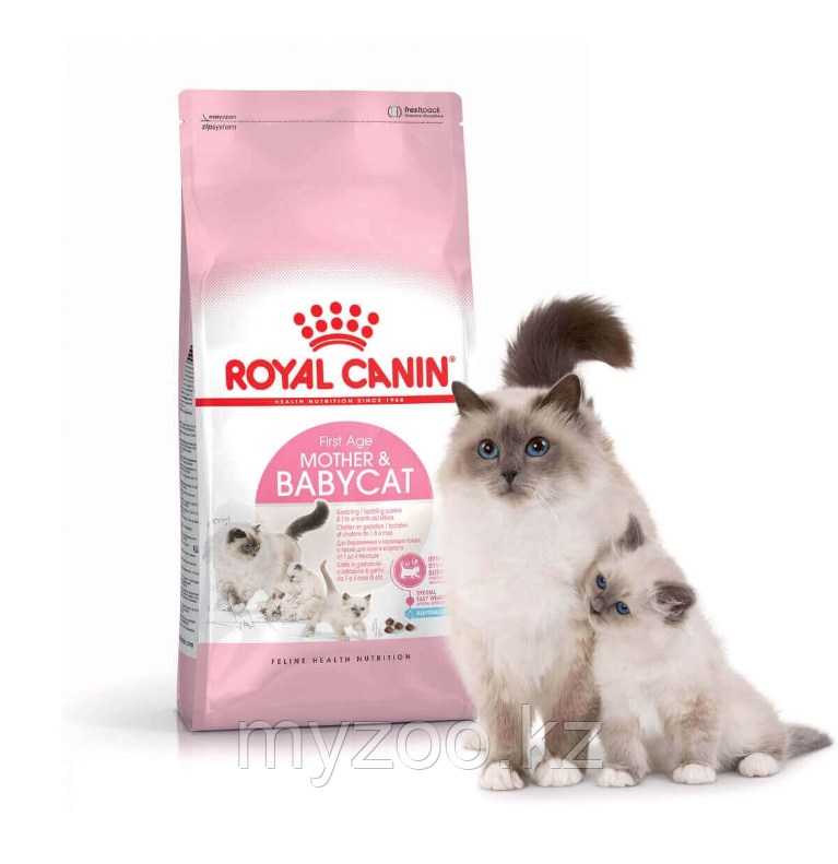 Корм для котят от 1-4 месяцев и кормящих кошек Royal Canin MOTHER&BABY CAT, 2kg.