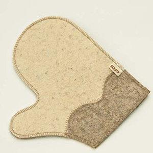 рукавицы для бани и сауны