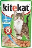 Kitekat с Рыбой в Соусе Китикэт Консервы для кошек, пауч 85г