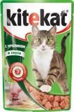 Kitekat с Кроликом в Соусе Китикэт Консервы для кошек, пауч 85г
