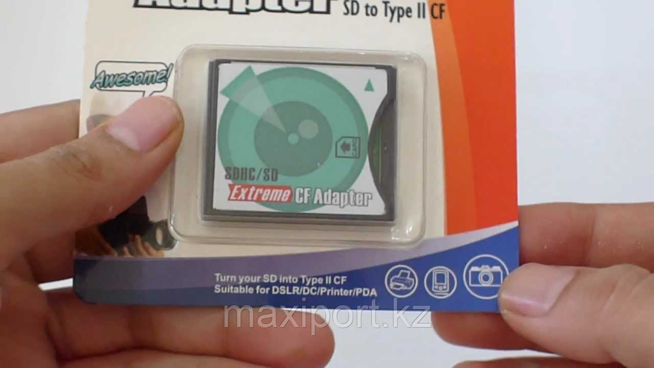 Cf compact flash переходник из micro sd