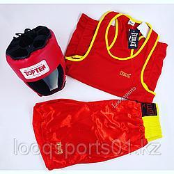 Боксерская форма (майка+шорты)