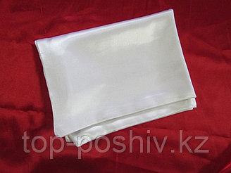 Наволочка белая для сублимации, 30х30 см, атлас
