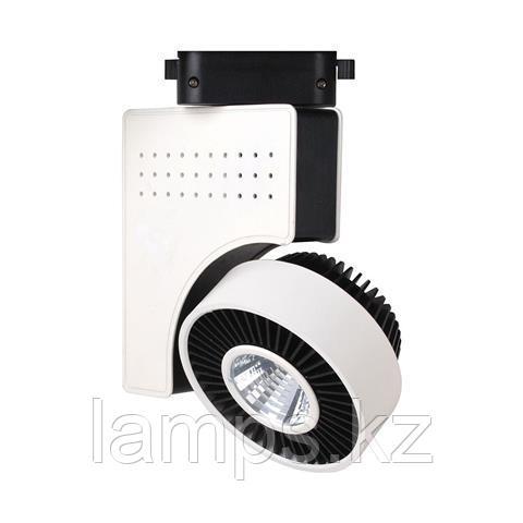 Светильник на шину, трековый, потолочный, светодиодный ZURIH-23 23W черный 4200K