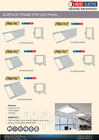 Накладная рамка для светодиодных панелей FRAME-30120 , фото 2
