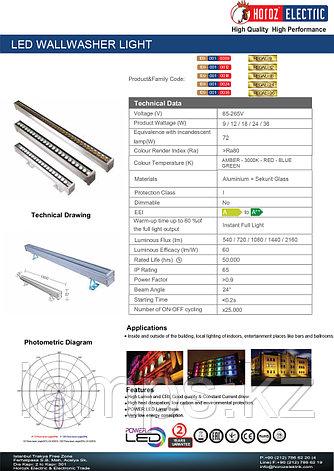 Линейный прожектор для стен REGAL-12 12W 3000K, фото 2
