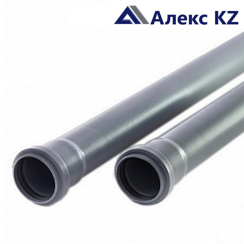 Труба канализационная 50х1,8х1000 мм.  РТП