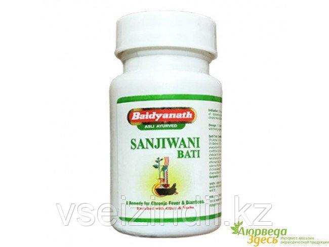 Санживани бати, Байдьянахт, Sanjiwani bati, 80 табл, вирусы, бактерии, грипп, инфекции дыхательных путей