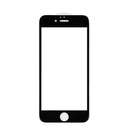 Защитное стекло 5D A-Case Apple iphone 6, iphone 6S, Окантовка Black, фото 2