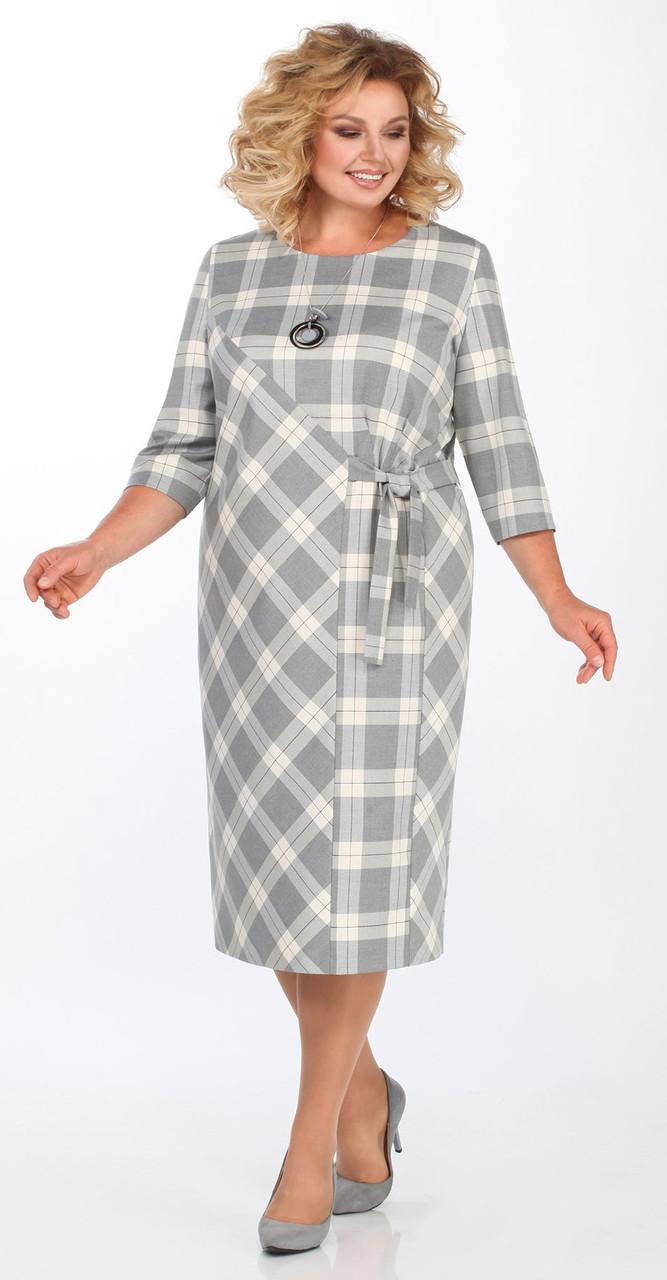 Платье Matini-31294, серый, 58