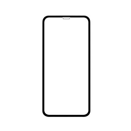Защитное стекло 5D A-Case Apple iphone Xr, iphone 10r Окантовка Black, фото 2