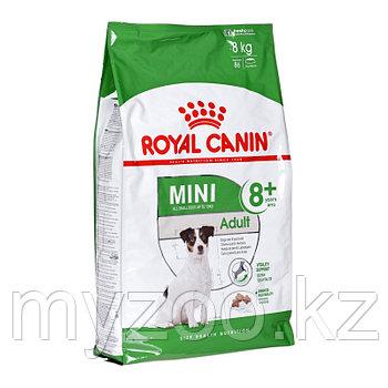 Royal Caninn MINI ADULT +8, 2 kg Корм для собак мелких пород старше 8 лет