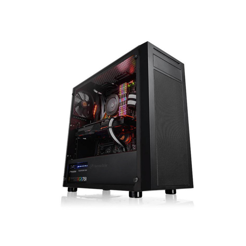 Кейс Thermaltake Versa J22 TG Black