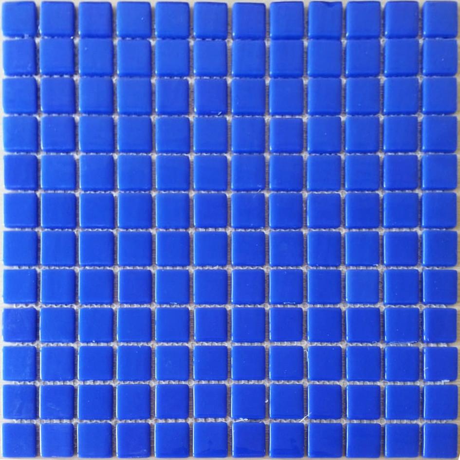 Средняя мозаичная плитка синий-ультрамарин
