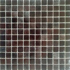 Средняя мозаичная плитка коричневая