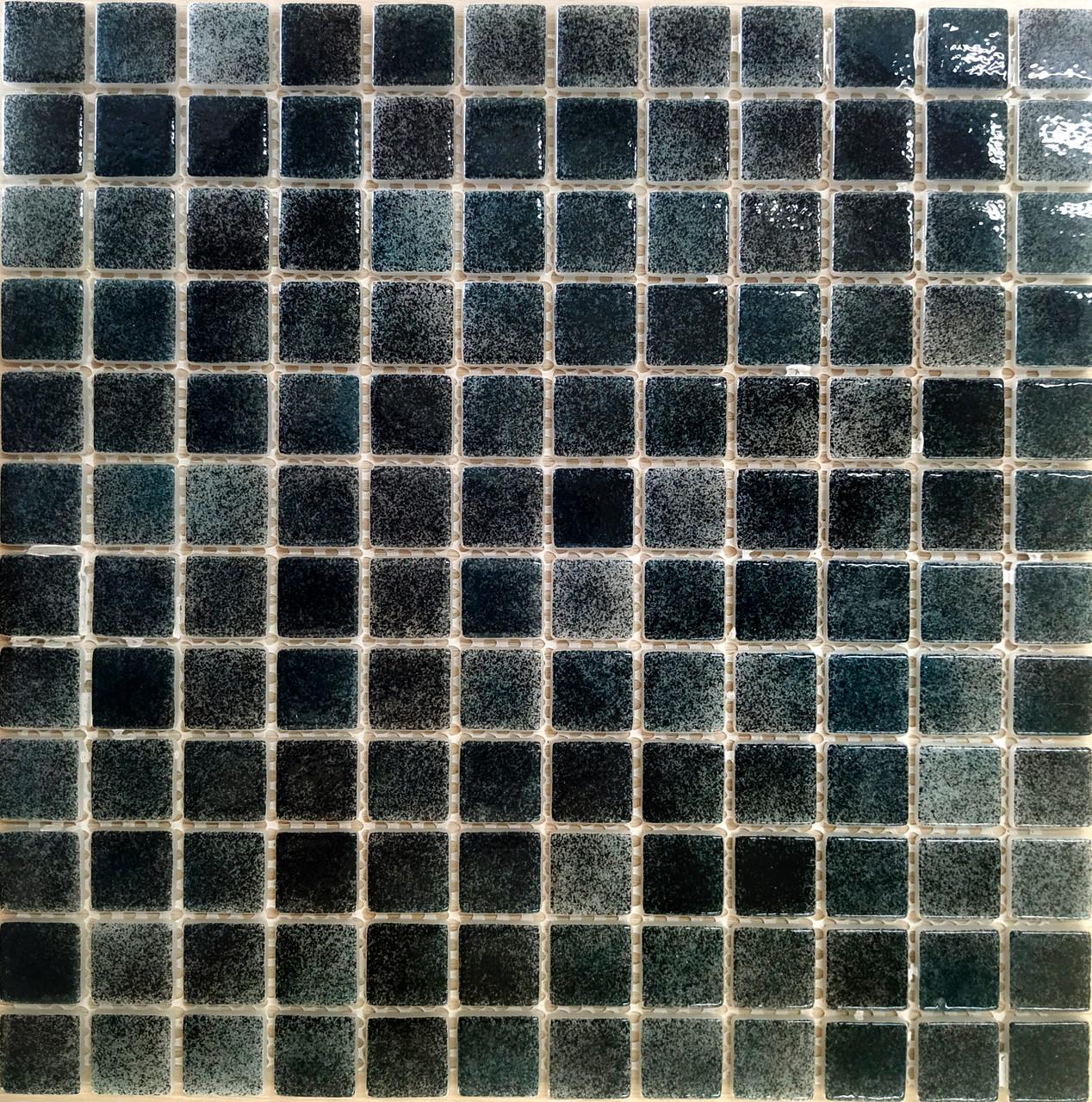 Средняя мозаичная плитка тёмно-зелёный