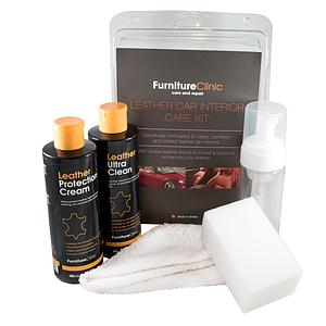 Малый набор для ухода за кожей (комплект) LeTech Furniture Clinic Ultimate Leather Care Kit