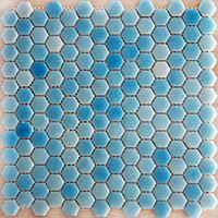 Шестигранная мозаичная плитка океан